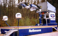 Rothmans F1/1 Simulator Capable of Complete Inversion